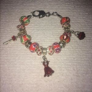 Jewelry - Night Out in Town red bracelet